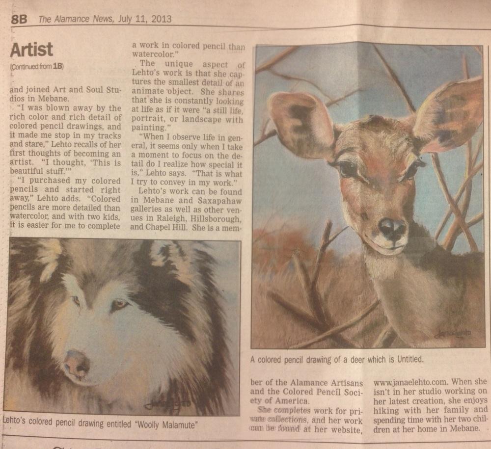 Alamance News page 2
